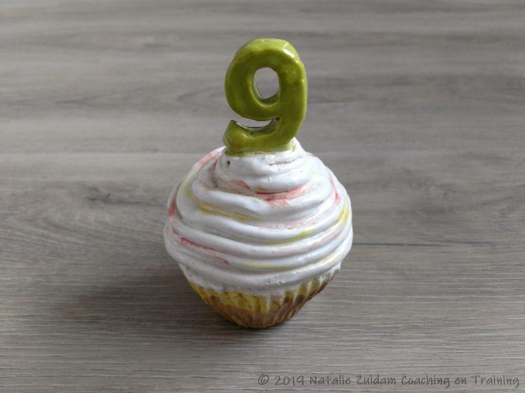 Cupcake met 9